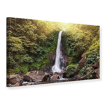 Leinwand drucken Wasserfall Bali