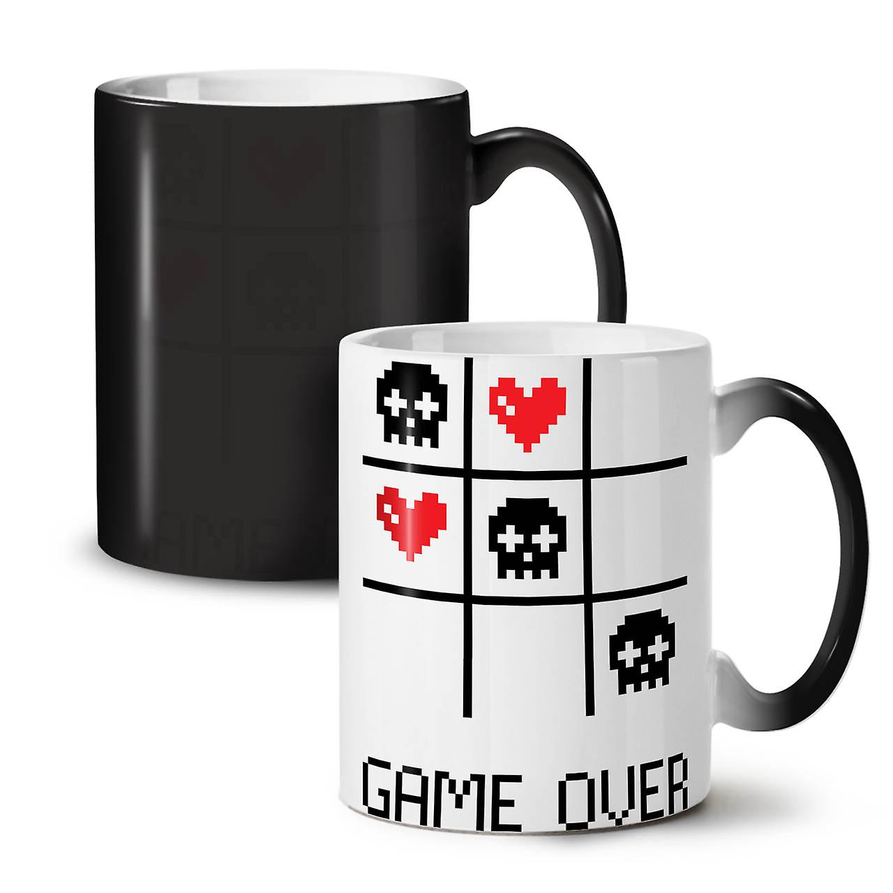Colour Geek OzWellcoda 11 Tea Mug Computer Changing Black Game Coffee New Ceramic vN80nmw