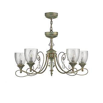 Maytoni Lighting Sabina Royal Classic Collection Chandelier , Mint Gold