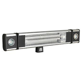 Sealey Iwmh1809Lr hoogrenderende Carbon Fibre infrarood Wall Heater 1800W/230V