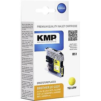 KMP Ink replaced Brother LC-223Y Compatible Yello