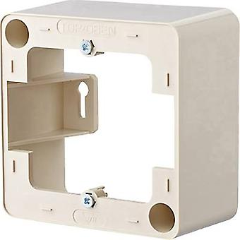 Surface-mount enclosure Metz Connect Pearl white