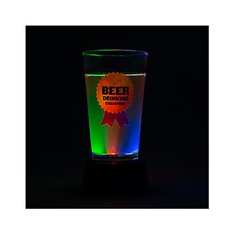 Light Up Beer Drinking Champion Trophy