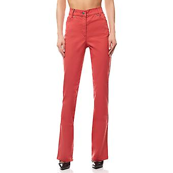 B.C.. best connections by heine coral women's jeans red regular