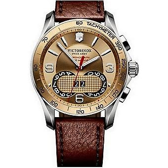 Montre Victorinox intemporel Chrono classic chronographe 1/100 241617
