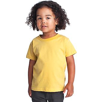 American Apparel Boys & Girls Fine Jersey Short Sleeve Kids T-Shirt