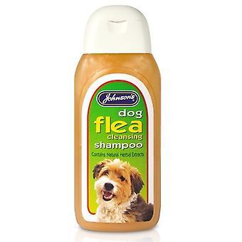 Pulgas de Johnson limpieza Shampoo para perros 200ml