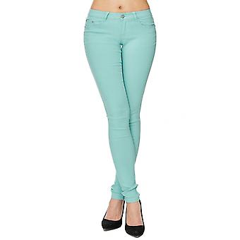 Women's Slim Jeans Pants Pastel Tube Stretch Hipster Tube treggings shape up