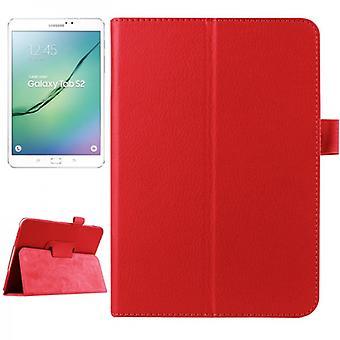 Rosso custodia per Samsung Galaxy tab S2 8.0 SM T710 T715 T715N
