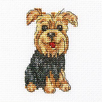 Cheerful Archie Counted Cross Stitch Kit-3.5