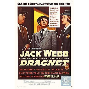 Dragnet Movie Poster (11 x 17)
