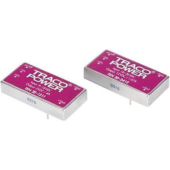 TracoPower TEN 20-2410WIN DC/DC converter (print) 24 Vdc 3.3 Vdc 5.5 A 20 W No. of outputs: 1 x