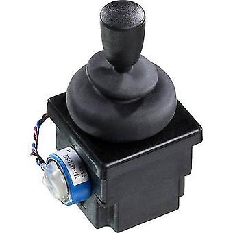Joystick 500 Vdc Lever (straight) Open end cable IP65 APEM 4R28-2H1E-55-360 1 pc(s)