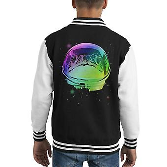 Space Frog Kid's Varsity Jacket