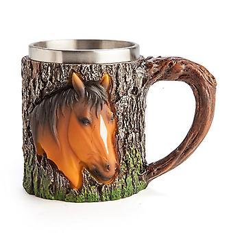 Taza de cabeza de caballo