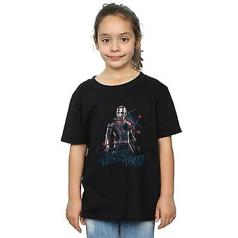 Marvel Girls Ant-Man And The Wasp Lab Pose T-Shirt