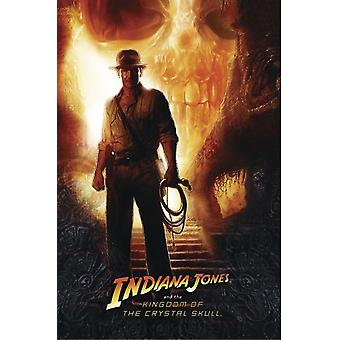 Indiana Jones poster Kingdom of th Crystal Skull teaser motif