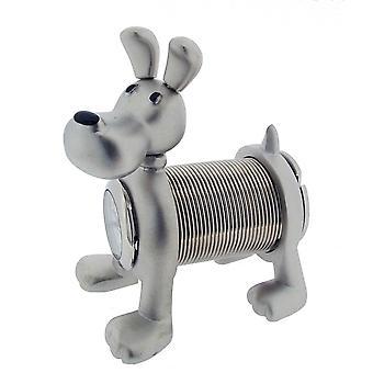 Geschenk-Produkte elastisch Hund Mini Stempeluhr - Silber