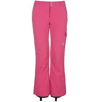 Spyder Womens Excite Pants Ski Salopettes Trousers Bottoms Waterproof Zip