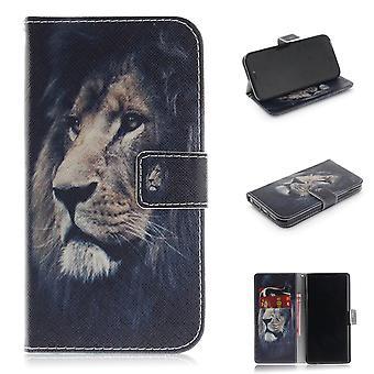 iPhone XR Wallet case-Lion