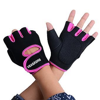 Guantes de entrenamiento | Diseñado para la circulación de aire máxima-rosa