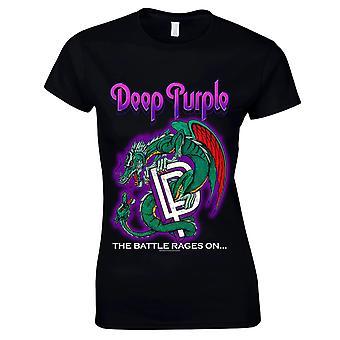 Deep Purple-the Battle Rages on t-shirt, Women