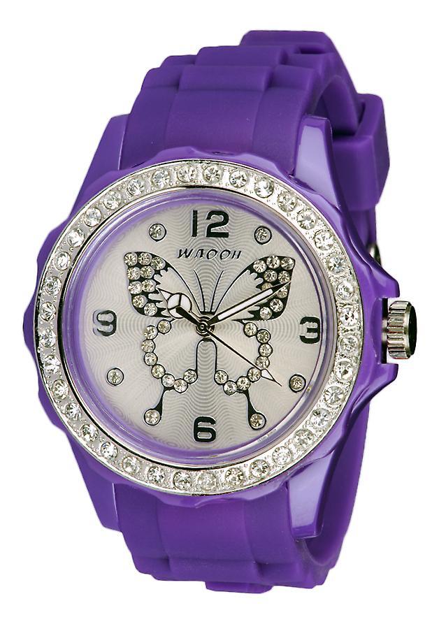 Waooh - viser FC38 ringe 'Butterfly rhinestone' spesielle Valentine - rammen rhinestones & ekstern