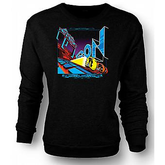 Mens Sweatshirt Tron - Pop Art - Cool B Movie
