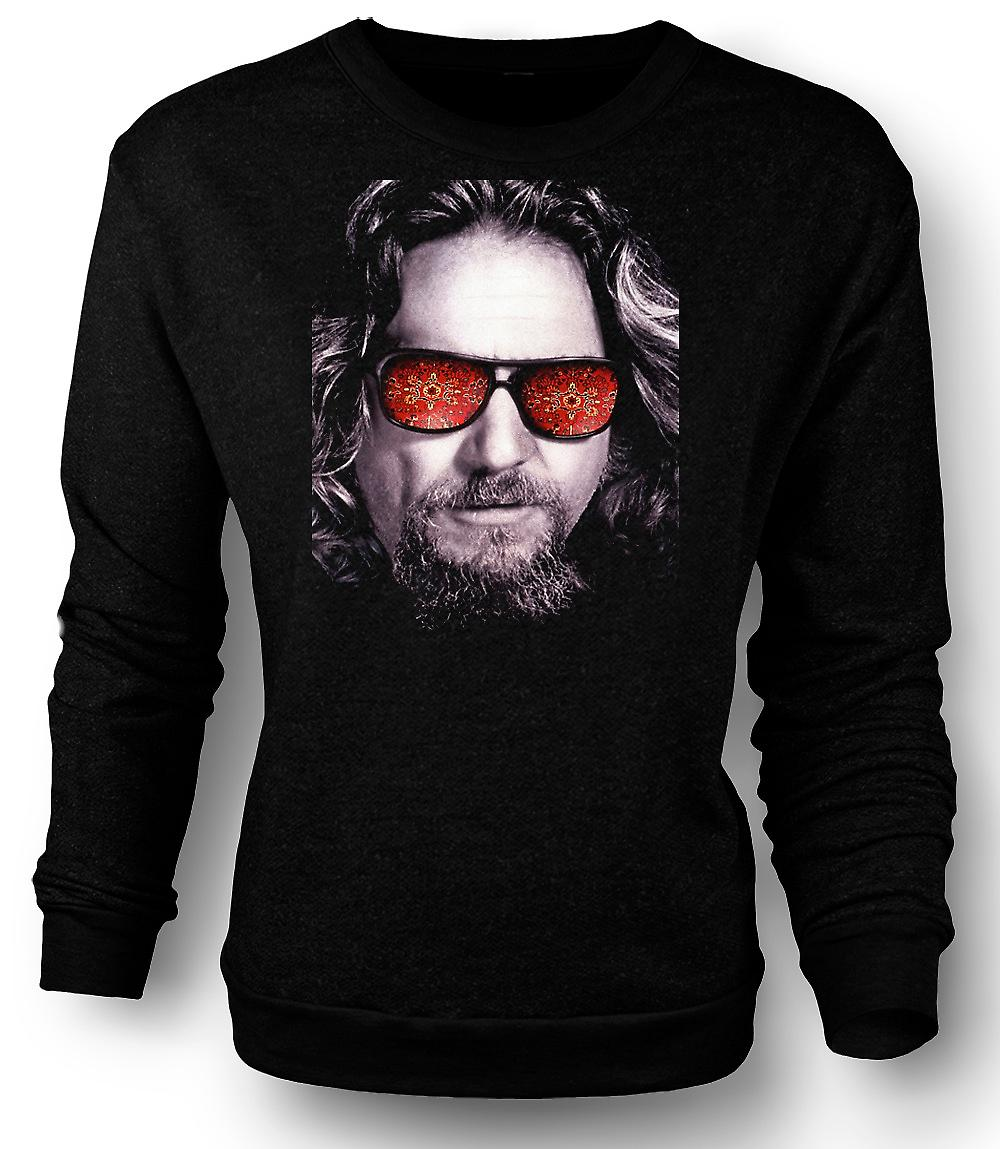 Mens Sweatshirt broar - Big Lebowski - glasögon