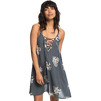 Roxy Turbulence Rose And Pearls Softly Love Printed Coverup Dress