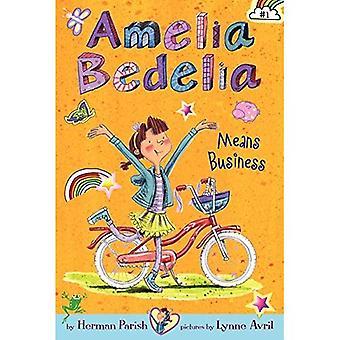 Amelia Bedelia sérieux en affaires