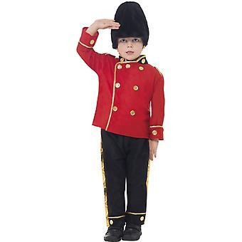 Grenadier Garde englische Garde Uniform Kinder Kostüm.