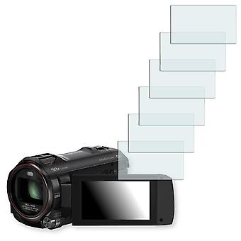 Panasonic HC W850 display protector - Golebo crystal clear protection film