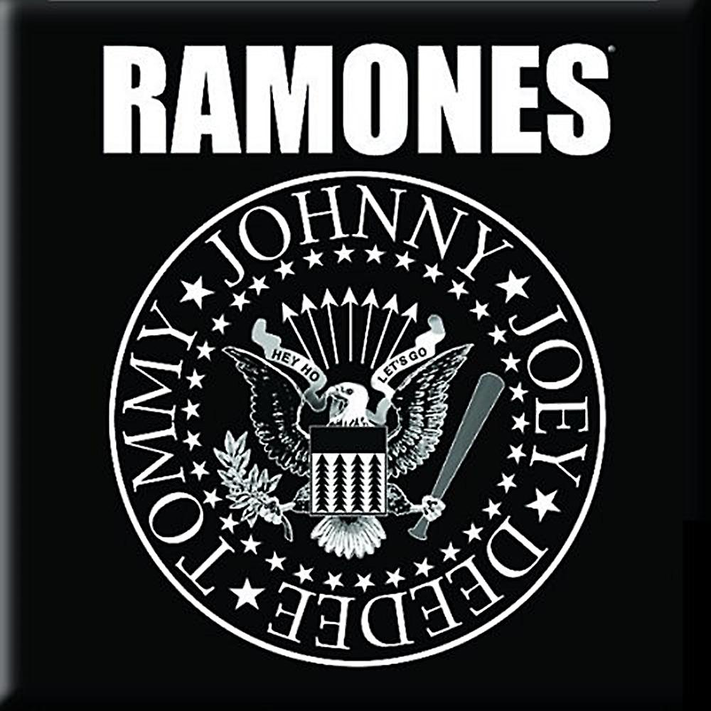 Ramones Seal steel fridge magnet     (ro)