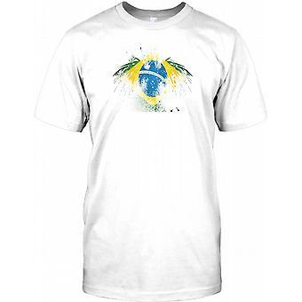 Brasilien Eagle Flag børn T Shirt