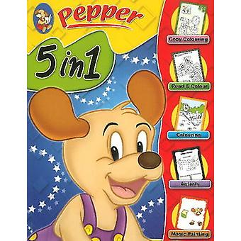 Pepper 5 in 1 by Sterling Publishers - 9788120760639 Book
