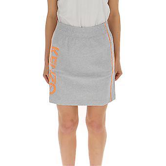 Kenzo grå bomulls kjol
