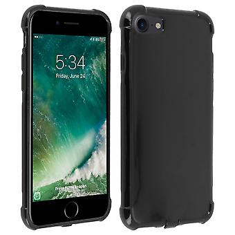 iPhone 7 / 8 Case Akashi, Enforced Angles, Silicone Skin - Black