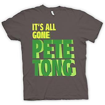 Mens T-shirt - seine alle Weg Pete Tong - lustig