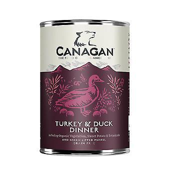 Canagan Türkei & Ente nass Hundefutter 400g kann - 1 x 400g