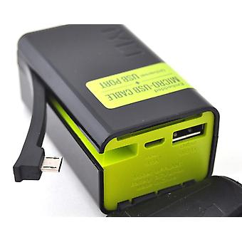 TYLT POWERPLANT 5200mAh Battery Backup with Micro-USB Charging Arm - Black