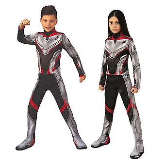 Avengers Team Suit Classic Marvel Endgame Superhero Child Boys Girls Costume