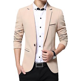 Allthemen mens Slim Fit solid Blazer casual Suit jacka