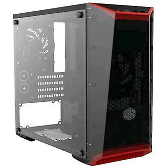 Cooler master coolermaster caso masterbox lite 3 mini torre micro-atx/mini-itx 1 porta usb 3.0 colore nero/rosso (finestra)