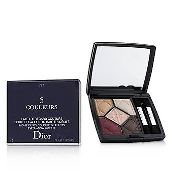 Christian Dior 5 Couleurs High-Fidelity Farben & Effekte Eyeshadow Palette - # 777 erheben Matte - 7g/0,24 oz