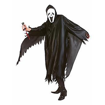 Spirit of Scream Men's Costume Screaming Spirit Sensenman Halloween Men's Costume