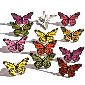 Eyelet Outlet Brads Butterfly Qbrd 67A