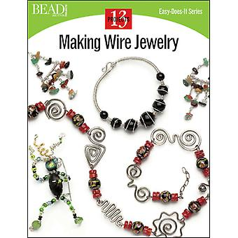 Kalmbach Publishing Books Making Wire Jewelry Kbp 12261