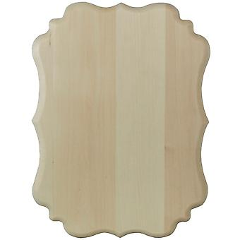 Basswood Vintage Plaque 12