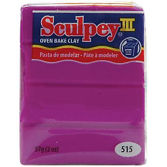 Sculpey Iii Polymer Clay 2 Ounces Violet S302 515